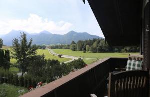 Blick vom Südbalkon Richtung Aschau | Zellerhorn