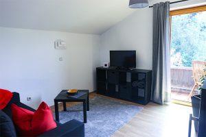 Flachbild- TV im Wohnzimmer | Zellerhorn