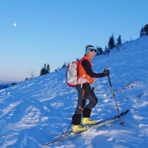 Skitour auf der Kampenwand | Tatjana Mittermayer